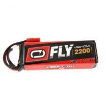 2200mAh 3S 11.1V 30C LiPo Flyzone S Tigre HXT Plug