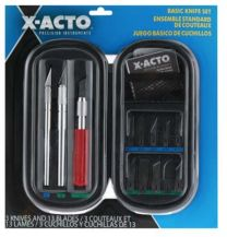 X-ACTO BASIC KNIFE Soft Case Carded