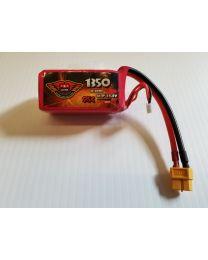 1350-95C-4S - LiPo Graphene - 14,8V w/XT60