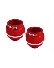 AL Motor Nut Set (Red) - Blade 200 QX