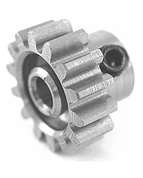 0140  Pinion Gear w/3mm Bore 32P 14T - Steel Alloy