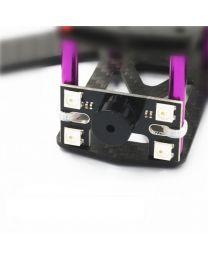 H Shape LED Tail Light w/ 5V Buzzer - 2pcs
