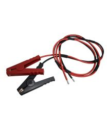 6\' Battery Charge Lead with Clamps - 8 AWG