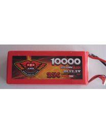 10000-25-6S - LiPo - 22,2Volts 25C