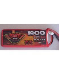 1800-35-2S - LiPo - 7,4Volts 35C