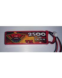 2500-3S - LiPo - 11,1Volts 3C - TX