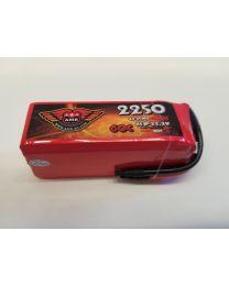 2250-60-6S - LiPo - 22,2Volts 60C