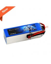 5000mAh 5S1P 18.5V 45C Lipo Battery Pack with Deans plug