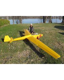 """BERGFALKE55-216\"""" Glider Scheme - Yellow"""