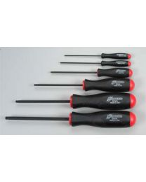 6PC BALL DRV HEX SET MET