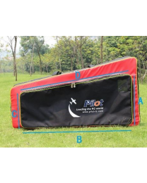 wing bag for 35cc aerobatic plane Scheme : RED