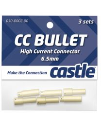 6.5mm High Current CC Bullet Connector Set