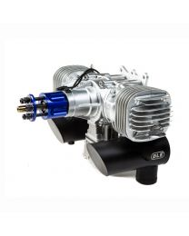 DLE-130cc Twin Gas Engine w/Ignition and Mufflers