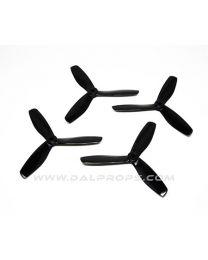 5x4.5 DAL Tri-Prop: Black 4pk