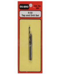 Tap & Drill Set 6-32