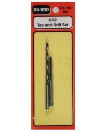 Tap & Drill Set 8-32