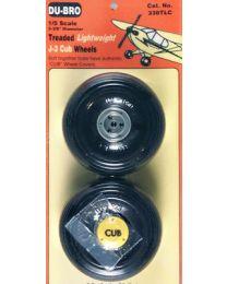 1/5 LTWT J-3 CUB WHL(2)