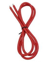 12AWG Silicone Wire 3\', Red