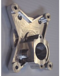 Rear crankcase half/backplate - ZDZ180B2RV-J Champion