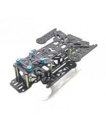 Transformation 300 All Carbon Fiber Foldable Quadcopter Aircraft Frame