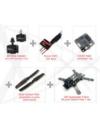 EMAX 250 Quadcopter combo pure carbon frame
