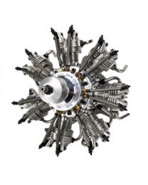 7-Cyl 35cc 4-Stroke Glow Radial Engine