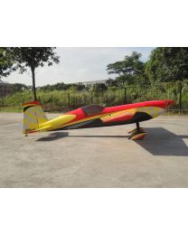"EXTRA330SC 150CC 122"" CF Red/Yellow Checker (06)"