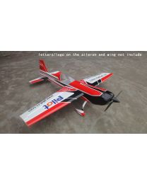 "EXTRA330SC 60CC 92"" CF Red/White/Black - (12)"