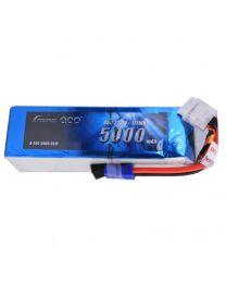 5000mAh 6S1P 22.2V 45C Lipo Battery Pack EC5 plug