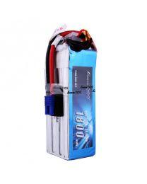 1800mAh 6S1P 22.2V 60C Lipo Battery Pack with EC3 plug