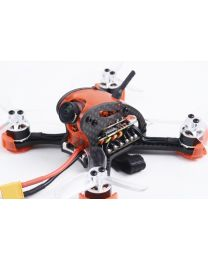 Falcon CP90PRO Mini FPV Quadcopter BNF Red - DSMX RX