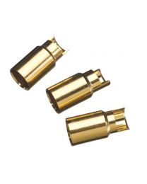 GOLD BULLET CONN FEMALE 6MM(3)
