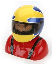 35% Painted Pilot Helmet Sukhoi