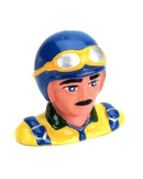1/9  Pilot, with Helmet & Goggles