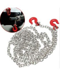 1/10 Scale Metal tow chain with hooks (Length 96cm)