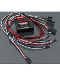 Complete LED Light System 1/10 w/Control Box (8)