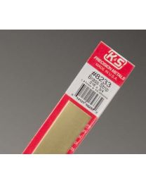 ".016 x 3/4"" Brass Strip (1 pc per card)"