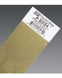 ".016 x 2"" Brass Strip (1 pc per card)"