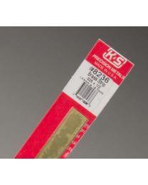".025 x 1/2"" Brass Strip (1 pc per card)"