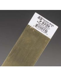 ".025 x 2"" Brass Strip (1 pc per card)"