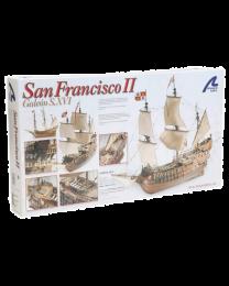 1/90 San Francisco II Wooden Model Ship Kit