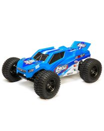 22S ST Brushless RTR, AVC, Blue/Silver: 1/10 2WD