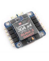 BLHELI_S 30A 4-in-1 OPTO DSHOT ESC +Current Sensor