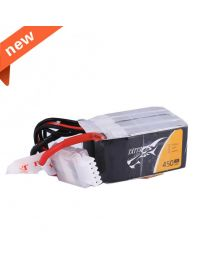 450mAh 4S1P 14.8V 75C Lipo Battery Pack with XT30 plug - Long Size for H Frame