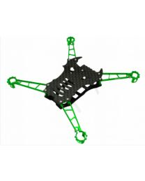 CNC Advanced Upgrade Kit (7mm Motor Mount) - Blade Nano QX/FPV - color GREEN