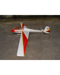 "BERGFALKE55-216\"" Glider Scheme - White"