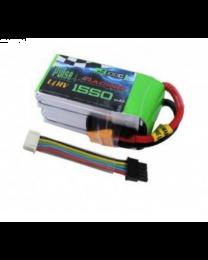 1550-100C-4S - HV LiPo - 15,2V w/XT60 w Removable Bal-W