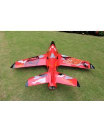 2.2m Predator Turbine Jet TR, Red/Black/Orange(02) & Thrust Vector