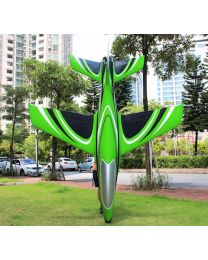 2.2m Predator Turbine Jet TR, Green/White/Black(09) & Thrust Vector
