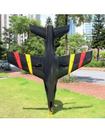 2.2m Predator Turbine Jet TR, Black/Yellow/Red(06) & Thrust Vector